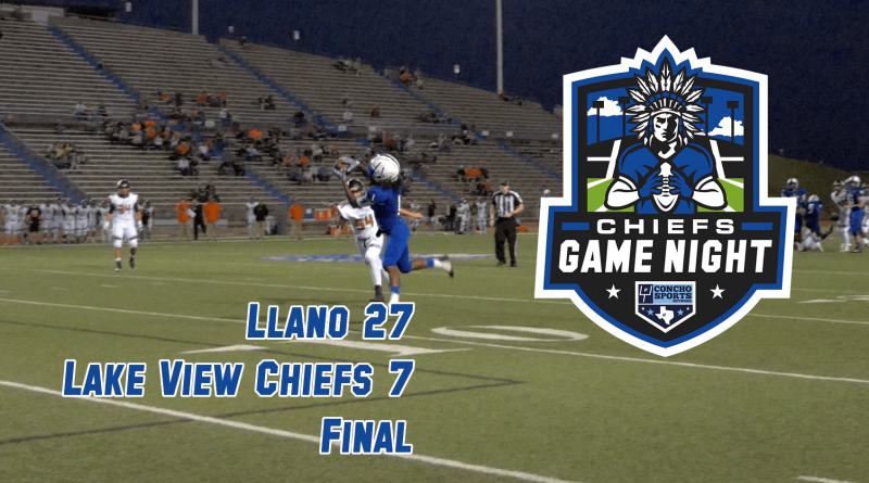CHIEFS GAME NIGHT: Chiefs come up short on homecoming 27-7 to Llano