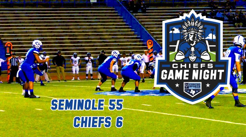 CHIEFS GAME NIGHT- Seminole 55, Lake View Chiefs 6
