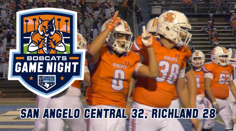 Bobcats Game Night: San Angelo Central 32, Richland 28