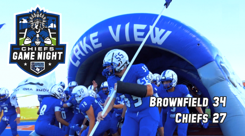 Chiefs Game Night- Brownfield 34, Lake View Chiefs 27 10/4/18