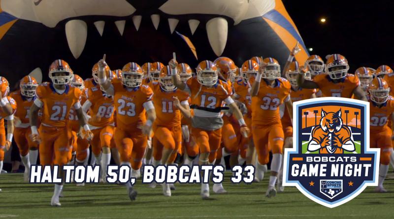 Bobcats Game Night- Haltom 50, Bobcats 33 11/9/18