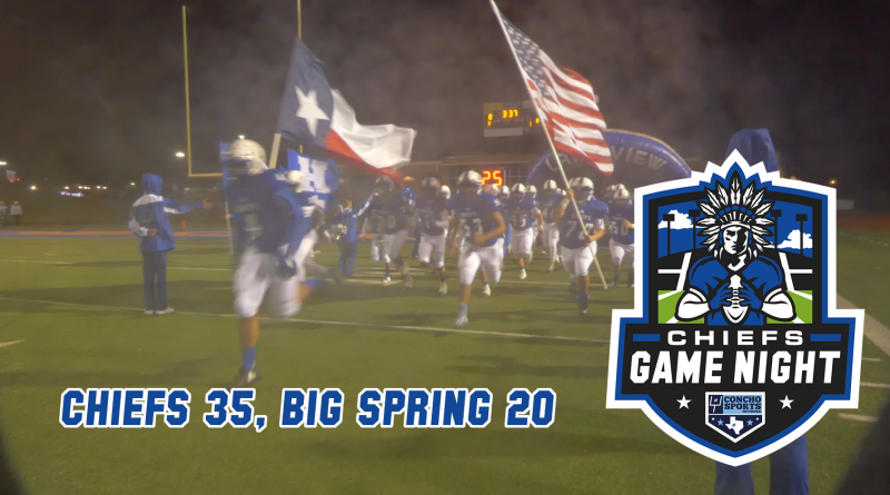 Chiefs Game Night – Lake View 35, Big Spring 20 11/8/18