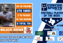 Week 4 CSN Player of the Week – QB Malachi Brown of San Angelo Central