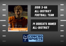 Fourteen Central Bobcats named to 3-6A All-District Team; Dabbert Named Offensive MVP