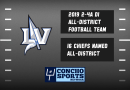 Sixteen Lake View Chiefs Named to 2-4A DI All-District Football Team