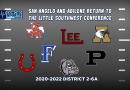 BACK WHERE THEY BELONG – San Angelo Central, Abilene Return to LSWC