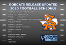 Bobcats updated football schedule includes nine total games and three home games