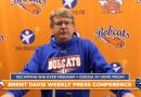 Brent Davis Bobcats Football Press Conference Week 6   10/26/20