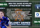Central Senior Cheerleader Delaney Grimes – BES-TEX SAISD Scholar Athlete of the Week   10/16/20