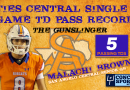 WATCH: Central QB Malachi Brown's Single-Game Passing Touchdown Record-Tying Performance   10/16/20