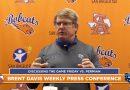 Brent Davis Bobcats Football Press Conference Week 9   11/16/20
