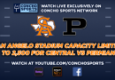 Stadium Capacity limited to 2,500 for Central-Permian football game; Game can be watched live on Concho Sports Network