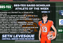 Central WR Seth Levesque – The BES-TEX SAISD Scholar Athlete of the Week | 11/20/20