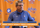 Coach Brent Davis Central Bobcats weekly football press conference | 12/21/20