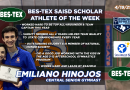San Angelo Central gymnast Emiliano Hinojos – The BES-TEX SAISD Scholar Athlete of the Week | 4/19/21