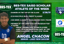 Congratulations to the BES-TEX SAISD Scholar Athlete of the Week – Lake View senior goalkeeper Angel Chacon | 2/28/21
